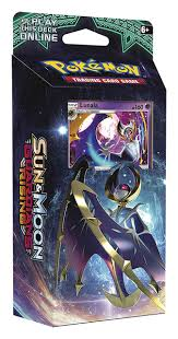 "Pokemon Sun & Moon Guardians Rising - Lunala ""Hidden Moon"" Theme Deck Pokemon 
