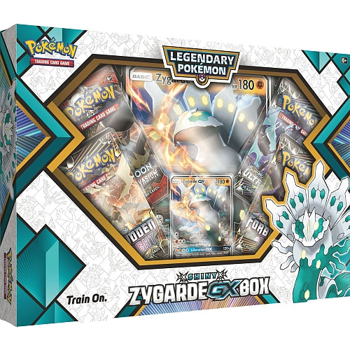 Pokemon - Legendary Pokemon - Shiny Zygarde - GX Box