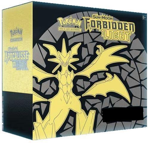 Pokemon Sun & Moon - Forbidden Light Elite Trainer Box Pokemon | Cardboard Memories Inc.