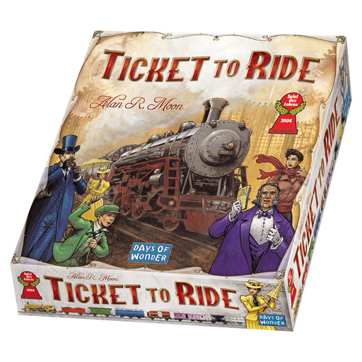 Ticket to Ride Days Of Wonder | Cardboard Memories Inc.