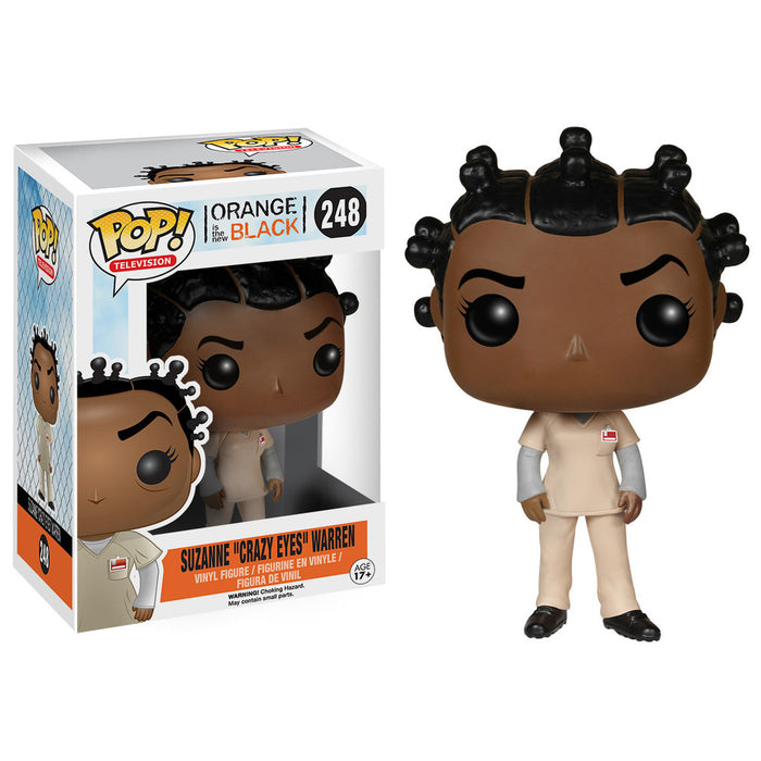 POP! - Orange is the New Black - Suzanne Crazy Eyes Warren - DAMAGED BOX
