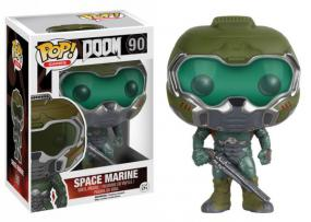 POP! Doom - Space Marine Funko | Cardboard Memories Inc.
