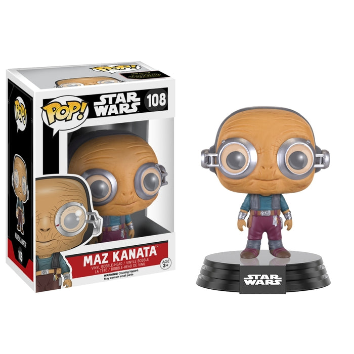 POP! Star Wars Force Awakens - Maz Kanata