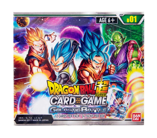 Dragon Ball Super - Galactic Battle Booster Box Bandai | Cardboard Memories Inc.