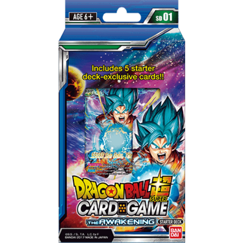 Dragon Ball Super - The Awakening Starter Deck Bandai | Cardboard Memories Inc.