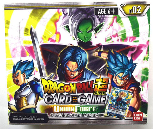 Dragon Ball Super - Union Force Booster Box Bandai | Cardboard Memories Inc.