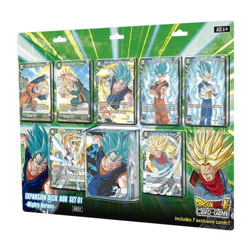 Dragon Ball Super - Mighty Heroes Deck Box Set Bandai | Cardboard Memories Inc.