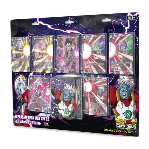 Dragon Ball Super - Dark Demon's Villains Deck Box Set Bandai | Cardboard Memories Inc.