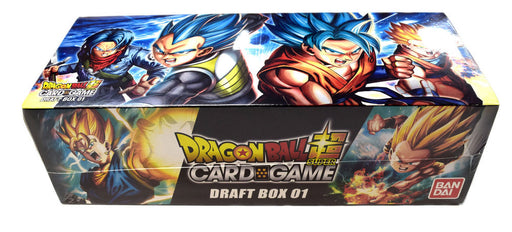 Dragon Ball Super - Draft Booster Box Bandai | Cardboard Memories Inc.