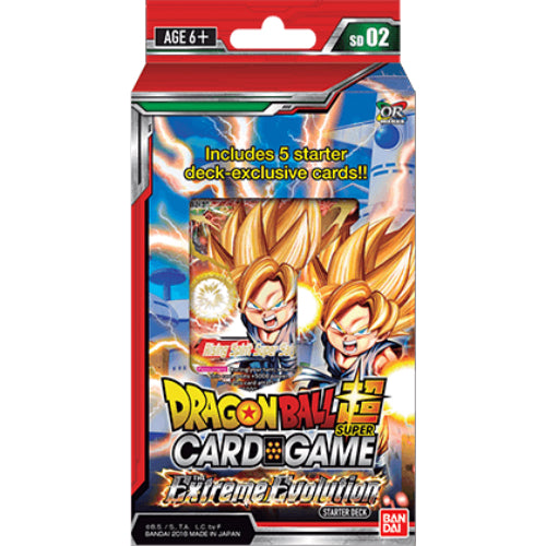 Dragon Ball Super - Extreme Evolution Starter Deck Bandai | Cardboard Memories Inc.