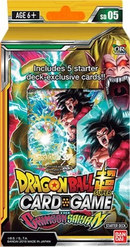 Bandai - Dragon Ball Super - Crimson Saiyan Set 04 - Starter Deck