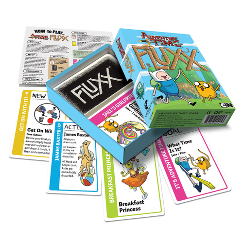 Fluxx - Adventure Time Looney Labs | Cardboard Memories Inc.