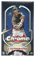 2014 Topps Chrome Baseball Hobby Box Topps | Cardboard Memories Inc.