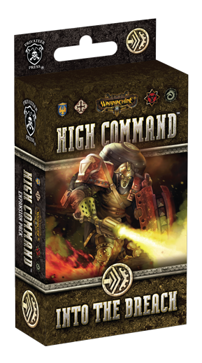 Warmachine - High Command - Into the Breach Expansion - PIP 61008 Privateer Press | Cardboard Memories Inc.