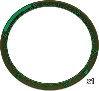 Hordes - 5-Inch Area of Effect Ring Marker - PIP 91088 Privateer Press | Cardboard Memories Inc.