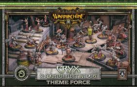 Warmachine - Cryx - Slaughter Fleet Raiders Theme Force - PIP 34139 Privateer Press | Cardboard Memories Inc.