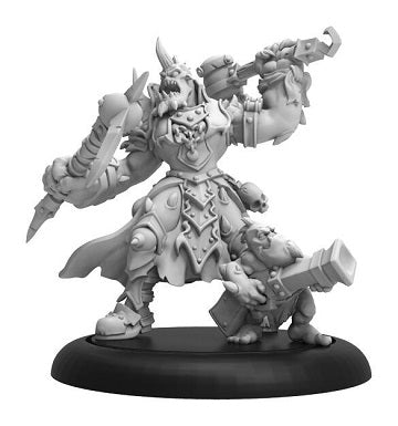 Warmachine - Cryx - Jussika Bloodtongue Command Attachment - PIP 34145 Privateer Press | Cardboard Memories Inc.