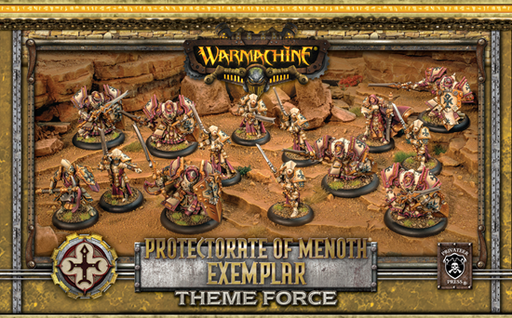 Warmachine - Protectorate of Menoth - Exemplar Theme Force - PIP 32133