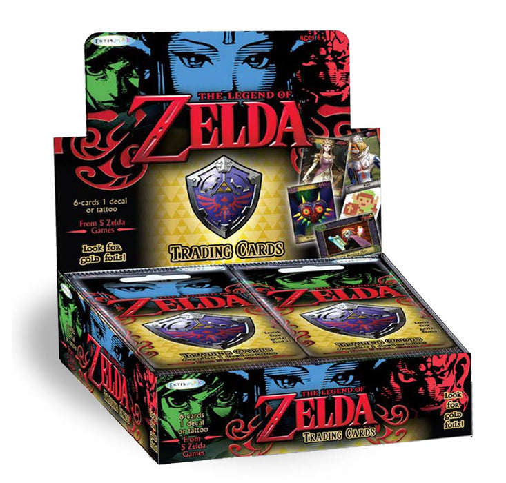 Legend of Zelda Trading Cards Hobby Box Enterplay | Cardboard Memories Inc.