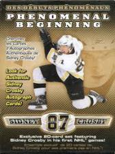 2005-06 Sidney Crosby Phenomenal Beginning Hockey Box Set Upper Deck | Cardboard Memories Inc.