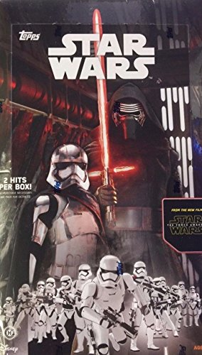 2015 Topps Star Wars the Force Awakens Hobby Box