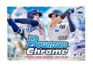 2017 Topps Bowman Chrome Baseball Jumbo Box Topps | Cardboard Memories Inc.