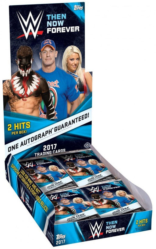 2017 Topps WWE Then Now Forever Wrestling Hobby Box
