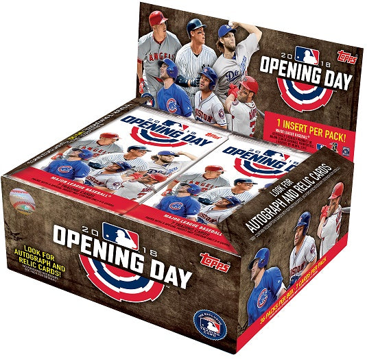 2018 Topps Opening Day Baseball Retail Box Topps | Cardboard Memories Inc.