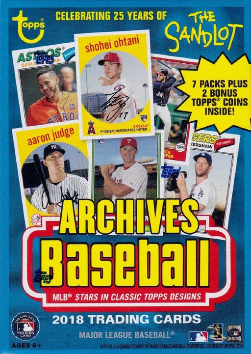 2018 Topps Archives Baseball Value Box