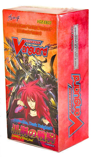 Cardfight!! Vanguard - Assemble, Dark Knights!!! Cavalry of Black Steel Extra Booster Box Bushiroad | Cardboard Memories Inc.