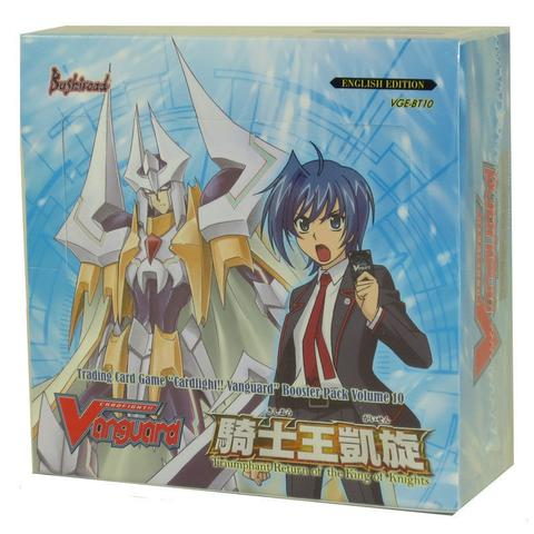 Cardfight!! Vanguard - Triumphant Return of the King of Knights Booster Box Bushiroad | Cardboard Memories Inc.