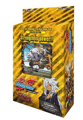 Buddyfight - Savage Steel Trial Deck Bushiroad | Cardboard Memories Inc.