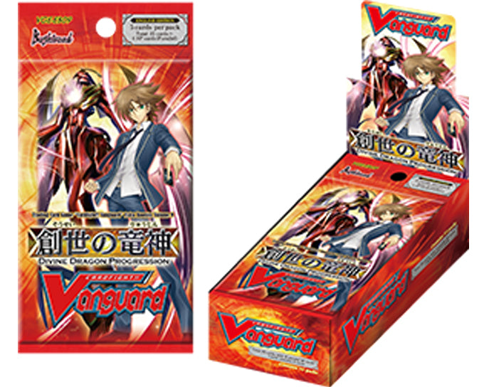 Cardfight!! Vanguard - Divine Dragon Progression Extra Booster Box Bushiroad | Cardboard Memories Inc.