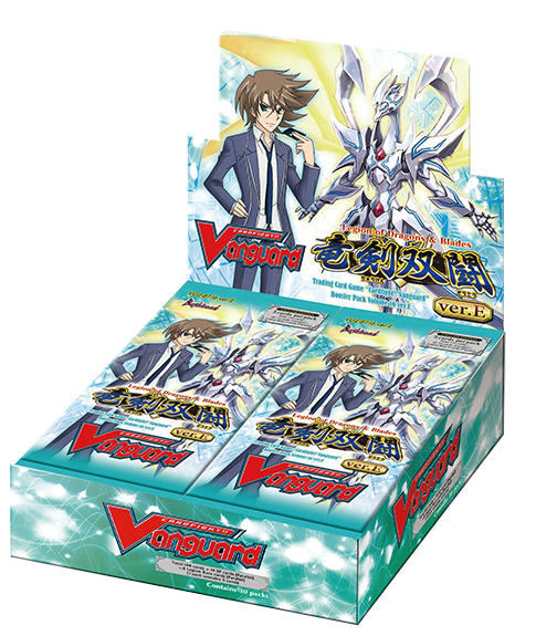 Cardfight!! Vanguard - Legion of Dragons & Blades Booster Box Bushiroad | Cardboard Memories Inc.