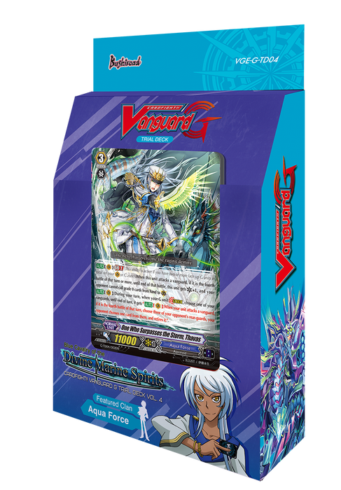 Cardfight!! Vanguard G - Blue Cavalry of the Divine Marine Spirits Trial Deck Bushiroad | Cardboard Memories Inc.