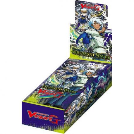 Cardfight!! Vanguard G - Commander of the Incessant Waves Clan Booster Box Bushiroad | Cardboard Memories Inc.