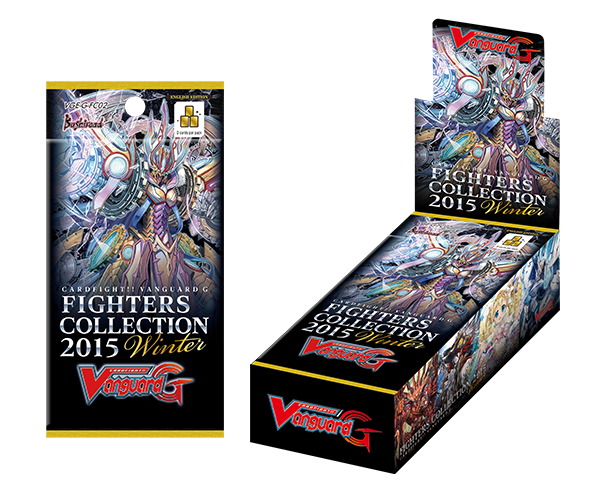 Cardfight!! Vanguard G - Fighters Collection 2015 Winter Booster Box Bushiroad | Cardboard Memories Inc.