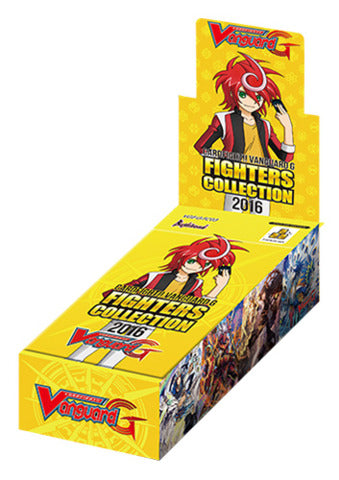 Cardfight!! Vanguard G - Fighters Collection 2016 Booster Box Bushiroad | Cardboard Memories Inc.