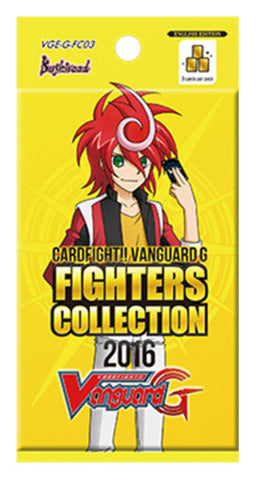 Cardfight!! Vanguard G - Fighters Collection 2016 Booster Pack Bushiroad | Cardboard Memories Inc.