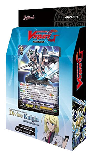 Cardfight!! Vanguard G - Divine Knight of Heavenly Decree Trial Deck Bushiroad | Cardboard Memories Inc.