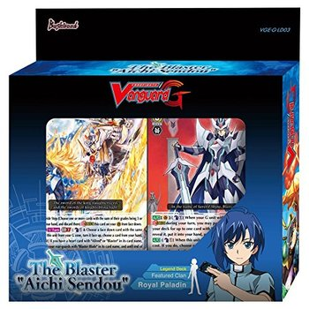 "Cardfight!! Vanguard G - The Blaster ""Aichi Sendou"" Legend Deck Bushiroad 