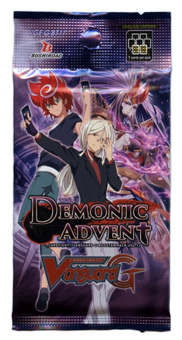 Cardfight!! Vanguard G - Demonic Advent Booster Pack Bushiroad | Cardboard Memories Inc.