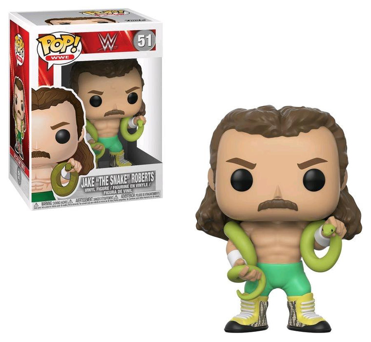 "POP! WWE - Jake ""The Snake"" Roberts Funko 