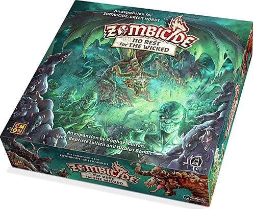 Cool Mini or Not - Zombicide - Green Horde - No Rest for the Wicked Expansion