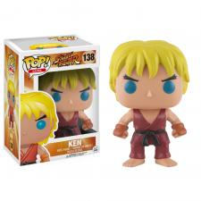 POP! Street Fighter - Ken Funko | Cardboard Memories Inc.