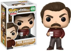 POP! Parks and Recreation - Ron Swanson Funko | Cardboard Memories Inc.