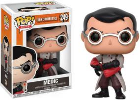 POP! Team Fortress - Medic Funko | Cardboard Memories Inc.