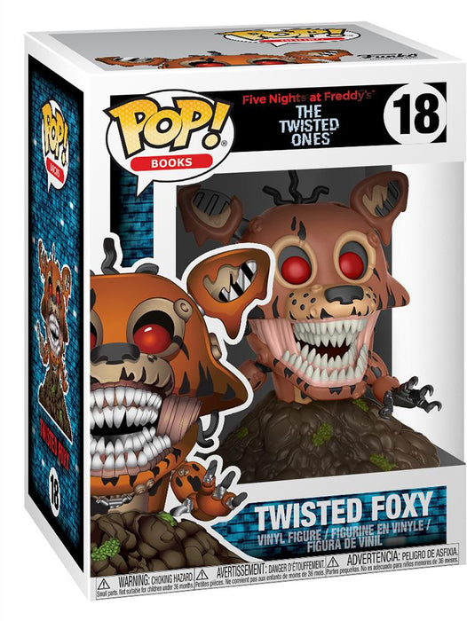 POP! Five Nights at Freddy's (Twisted Ones) - Twisted Foxy Funko | Cardboard Memories Inc.