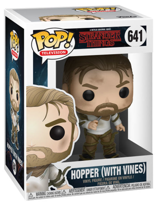 POP! - Stranger Things - Hopper - With Vines