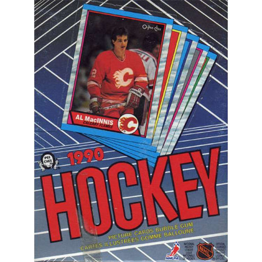 1989-90 O-Pee-Chee Hockey Hobby Box